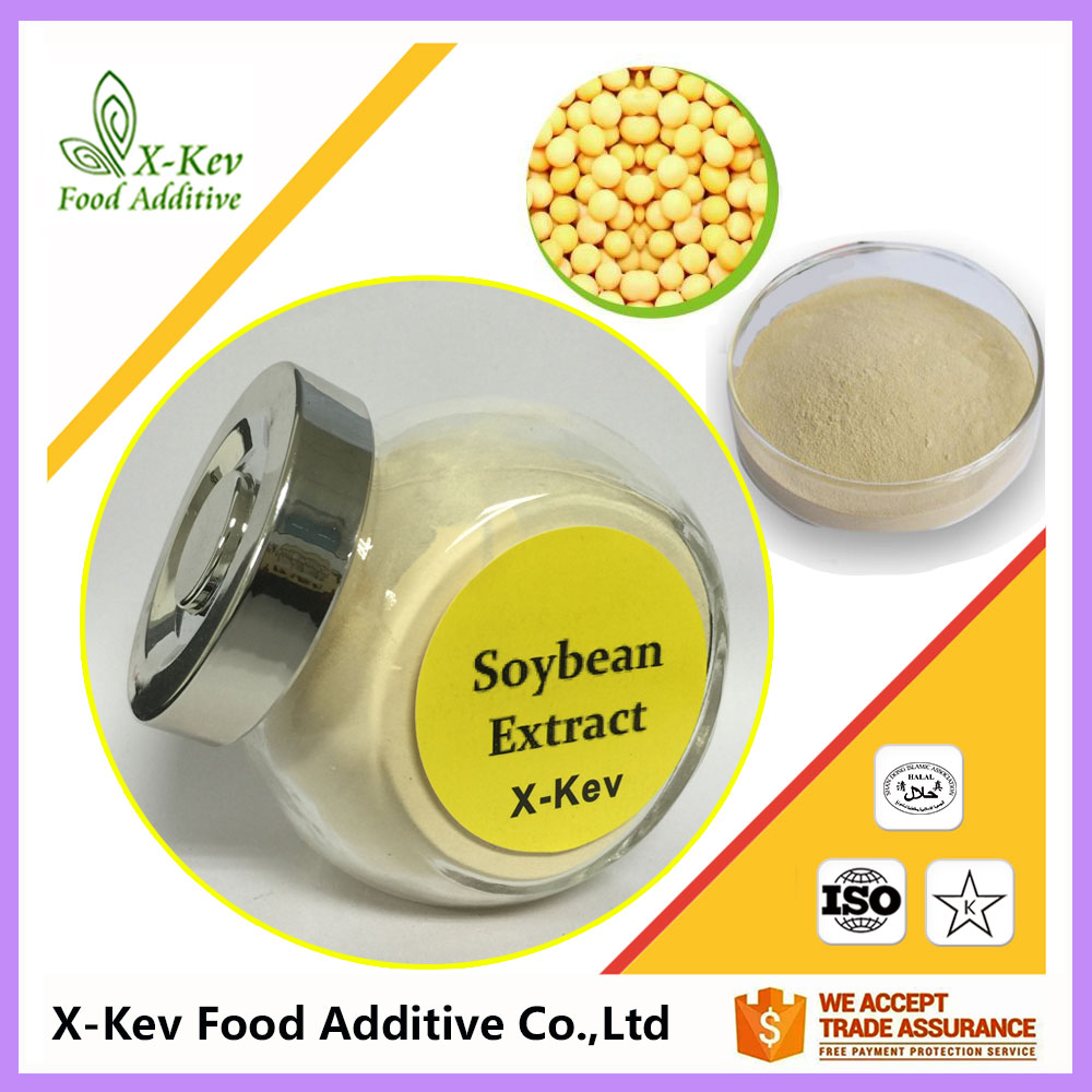 Wholesale Price Organic Soybean Extract Powder 40% Soy Isoflavones