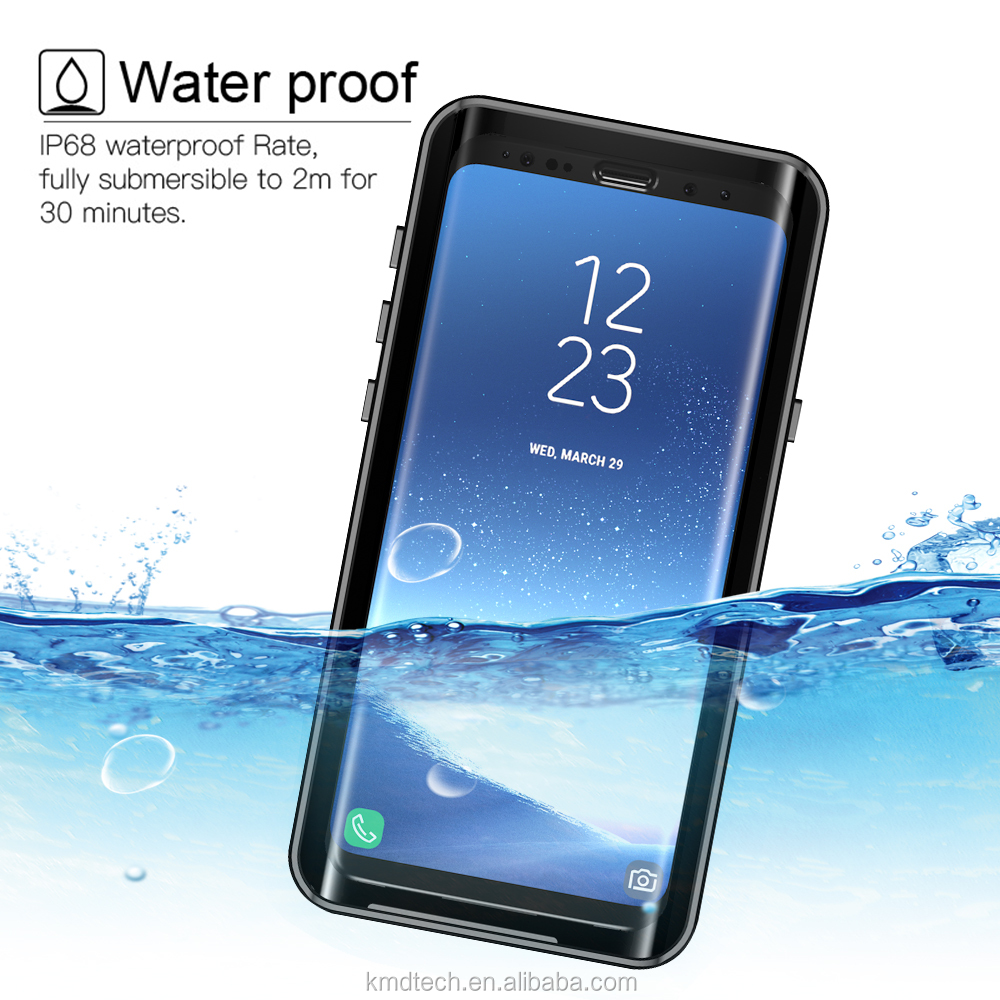 IP68 waterproof case For Samsung Galaxy S9 Plus shockproof dirtproof snowproof cover