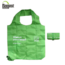 Manufacturer OEM Portable Packable Foldable Polyester Shopping Bag