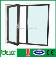 Garden customized aluminum casement door 2 way swing door swing door