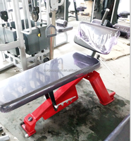 Body master fitness equipment/buy gym fitness/Flat Utility Bench/TZ-5017/Commercial gym equipment