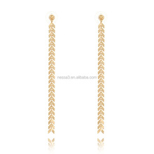 Fashion Pictures Of Gold Earrings Wholesale NSYG-0076