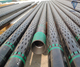 API Oil Well drilling slot liner pipe/ K55 slotted screen casing pipe