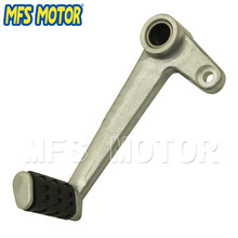 Motorcycle Part pedal lever For Ducati Monsters 696 796 1100S 2009 2010 2011 2012 2013 Silver