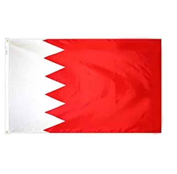 Fast difference sizes polyester custom printing Bahrain market flags