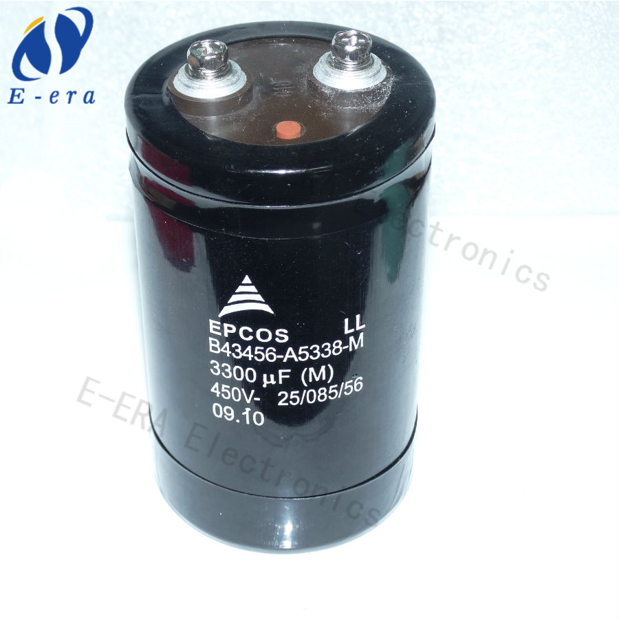 3300uf 450v aluminum electrolytic capacitors 65*105mm
