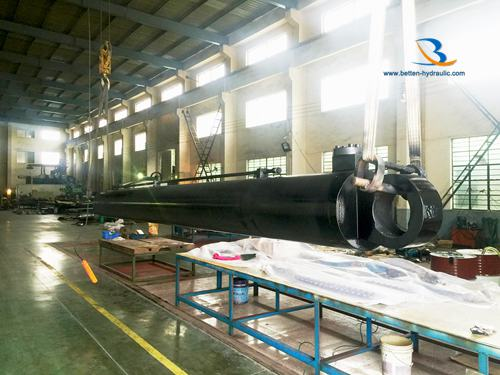 Long Stroke Hydraulic cylinder for engineering machinery/vehical