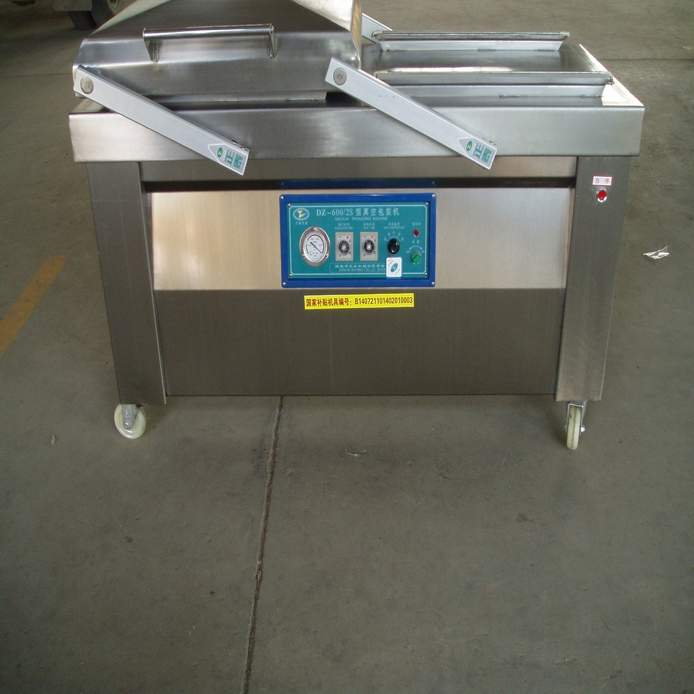 Large Inflatable Automatic Tabletop Vacuum Packing Machine For Big Volume Of Beef Paste