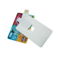 OEM credit card shape USB flash drive, super thin USB flash drive