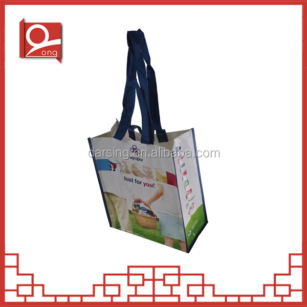 China Wholesale Custom pp woven lamination shopper bag