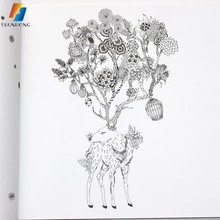 China made cheap price high quality coloring books for adults printing