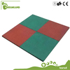 Eco-friendly top quality children rubber tiles outdoor playground