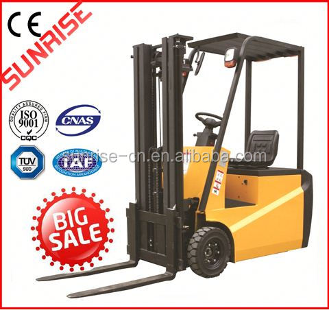 Baoli 2.5 ton small new electric forklift price