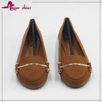 SSK16-306 Handmade shoes Super comfortable driving shoes Hot sell smart lady casual shoes
