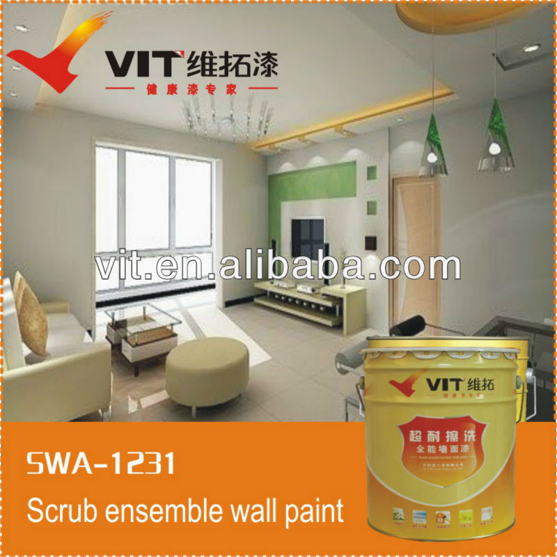 VIT good mildew resistance interior wall paint
