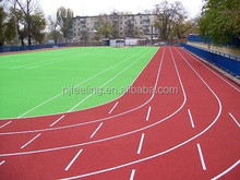 Rubber EPDM granule athletics track surfacing synthetic tartan track rubber running track FNL170314
