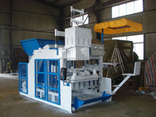 DONGYUE Machinery Group QTM10-15 moving egg laying block making machine in Linyi