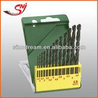 DIN 338 Plastic Box Packing Black Oxide HSS Twist Drill Bit