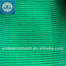 Green construction safety net / orange safety fence netting