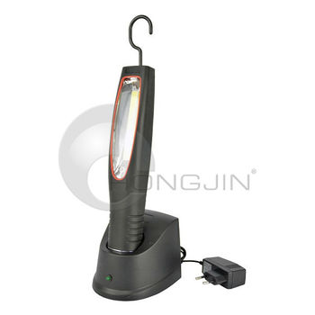 Rechargeable LED Work Light / Flash Light With 2.5W COB LED - Handheld or Hanging