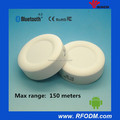 white round hamburger ibeacon tag 2pcs AAA replaceable battery bluetooth ibeacon IOS android beacon