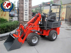 Electric model HZM ZL06 wheel loader with EuroIII engine for Europe market