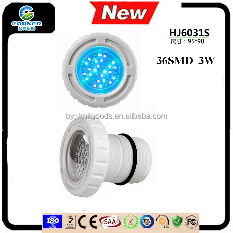 HJ6031S AC12V ABS IP68 waterproof <strong>l</strong> Recessed Led pool light