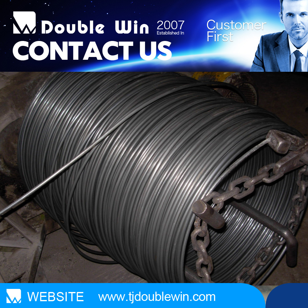 8mm hot rolled high carbon steel wire coil/steel wire rod