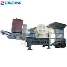 China crushing equipment mobile 100 tph stone jaw crusher plant price for sale