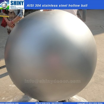 800mm sandblasted steel ball