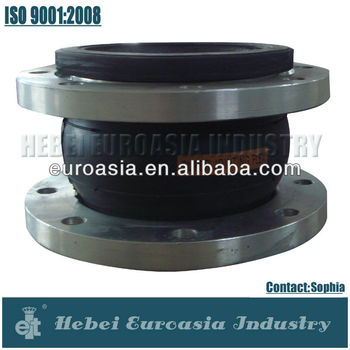 Pipeline Flexible Rubber Expansion Joints with Flanges