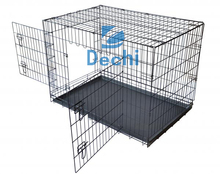 "48""/42""/36""/30""/24"" metal wire Pet Kennel Cat Dog Folding Crate Wire Metal Cage"