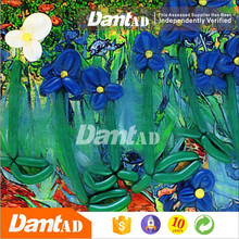 DMT AD flower paintings famous artists