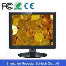Plastic 15 inch RGB LED monitor with high quality
