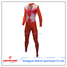 Outdoor wholesale unisex gym wear long-sleeve gym wear, snow ice skating speed ski clothing suits