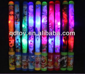 Kids projection cartoon led sticks flash toy