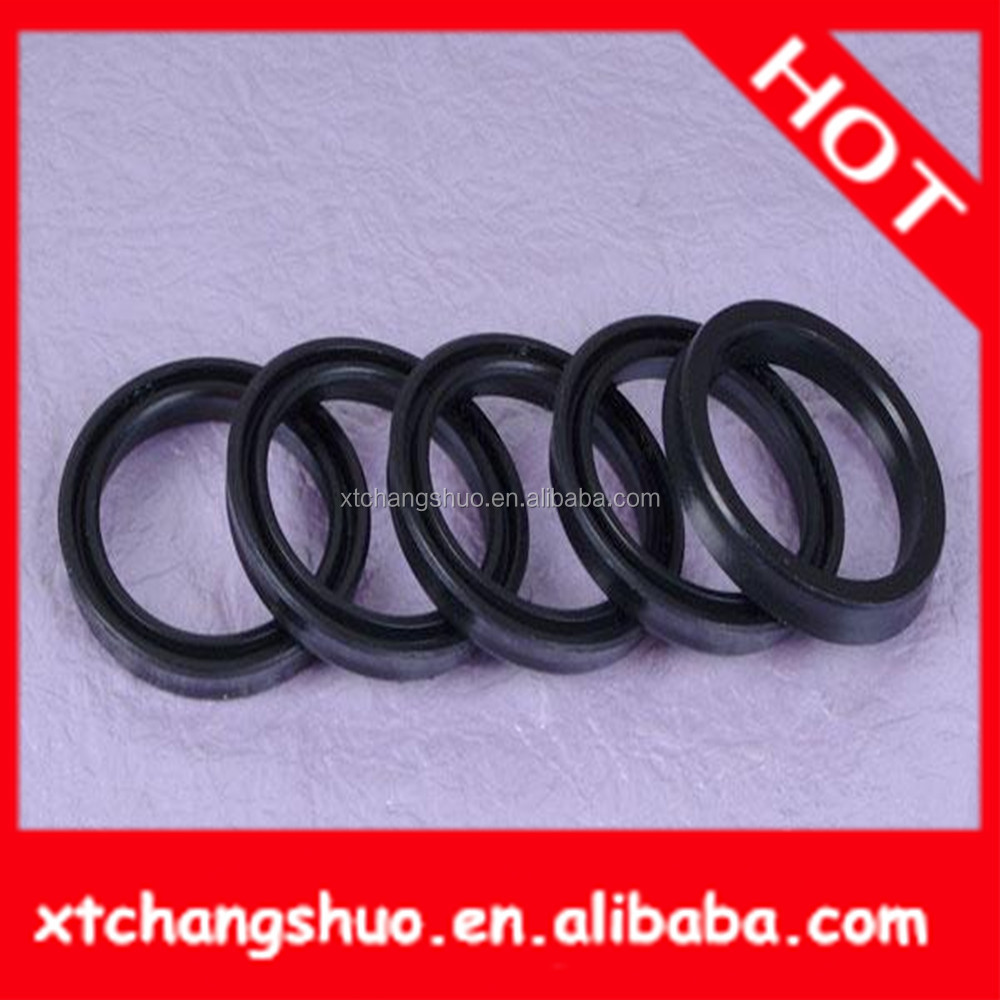 Hydraulic seal compressor shaft seal for sanden