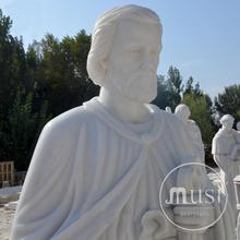 large outdoor garden marble christian statues for sale