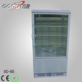 Compressor fan cooling storage refrigerator for coke cans