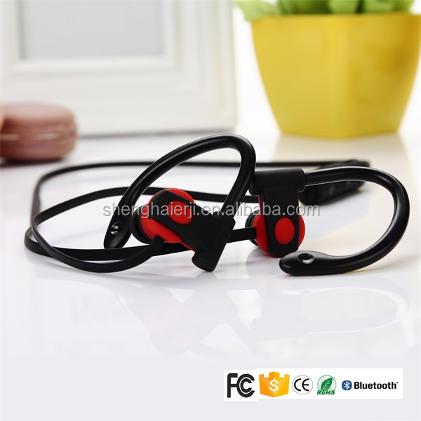 Communication hands free calls MP3 sport wireless stereo bluetooth earphone for cell