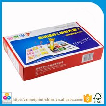 low cost high quality hardcover/softcover children books