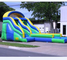 Top sale jumping castles inflatable water slide
