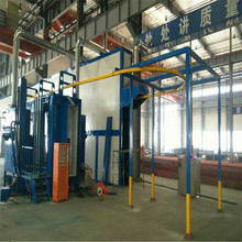automatic fence powder coating line equipment