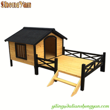 Large dog house with porch.
