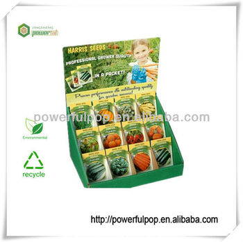 Supply muti cells pop seed counter+display+cardboard