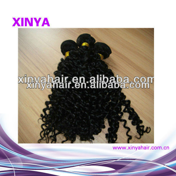 Philippine virgin wholesale manufacturer in Qingdao good quality hair pieces kinky afro curly