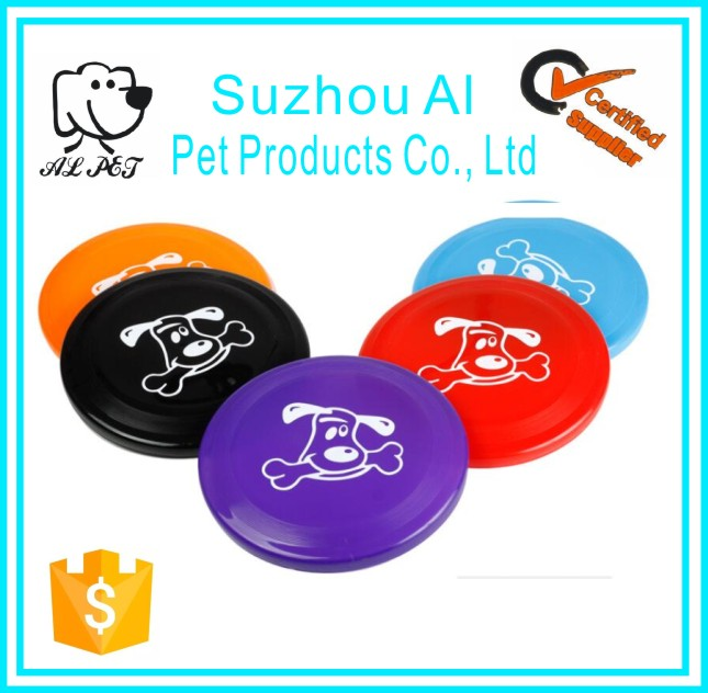 Medium Large Pet Dogs Fly Toy Flying Discs Durable Interactive Flyer Frisbee Dog