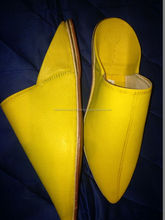 Beautiful Moroccan Handmade Leather Slipper Babouche For Men