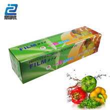 Stretch film type and soft packaging pvc cling film for food wrap
