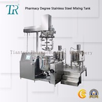 Vacuum homogenizer machine in mixing Equipment